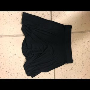 Black LOFT skirt size medium